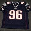 Patriots - Adalius Thomas signed authentic Patriots jersey - size 48