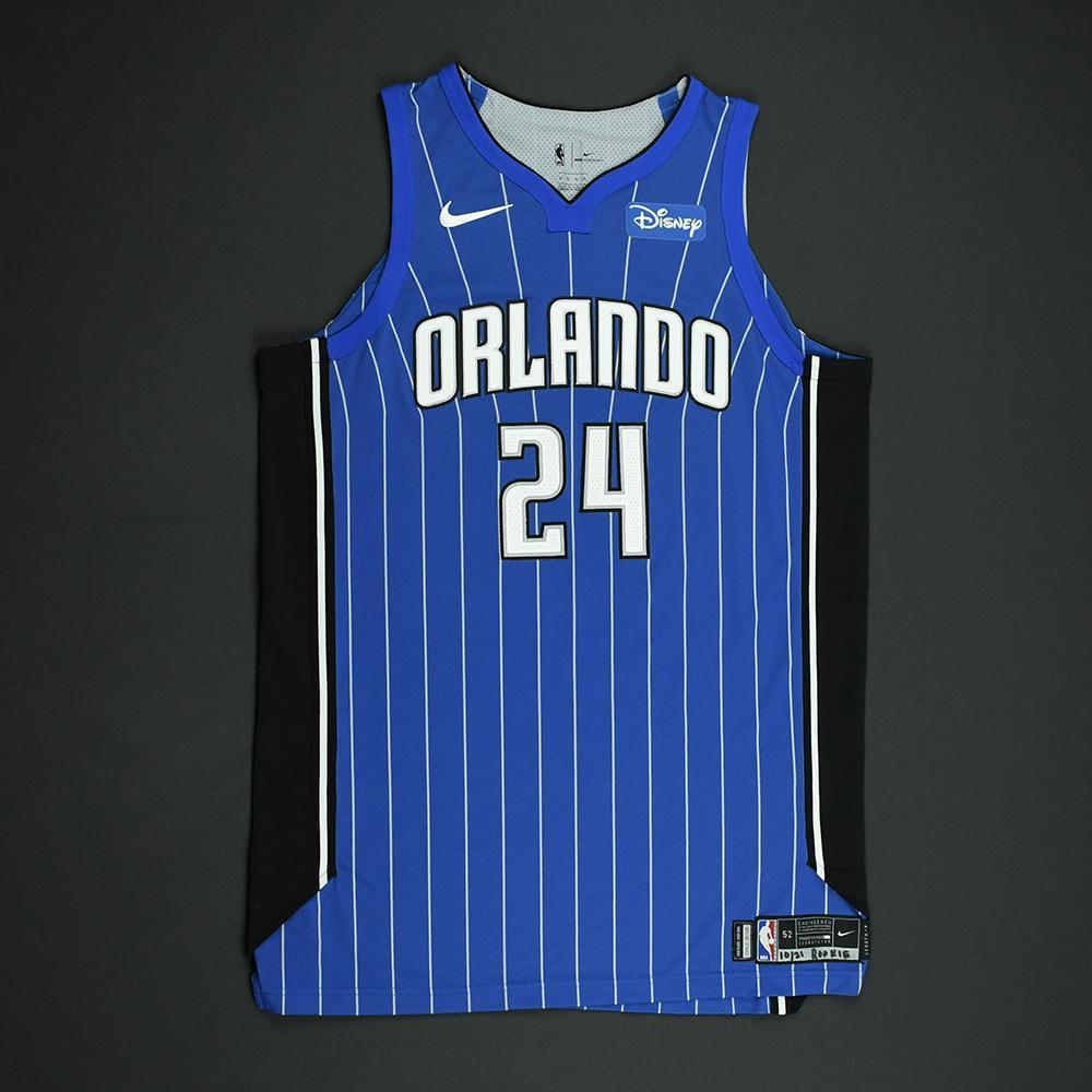 Khem Birch - Orlando Magic - Game-Issued Jersey - 2017-18 Season