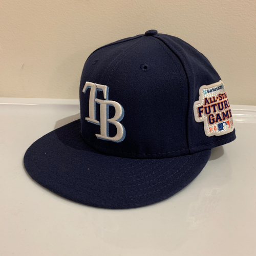 Photo of 2013 All Star Futures Game -  Game Used Cap  -  Enny Romero (Tampa Bay Rays) Size - 7 -1/8