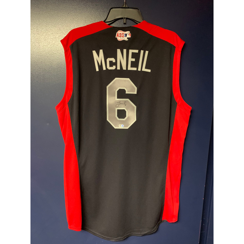 Photo of Jeff McNeil 2019 Major League Baseball Workout Day Autographed Jersey
