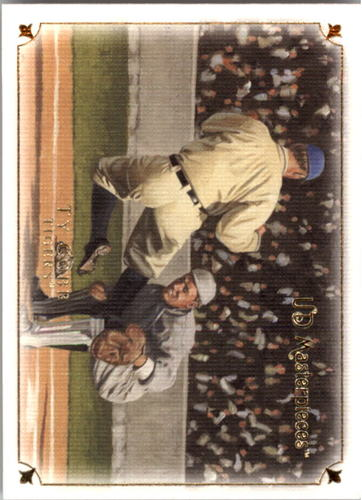 Photo of 2007 UD Masterpieces #20 Ty Cobb