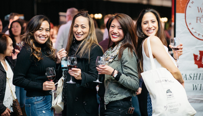 THE SEATTLE WINE AND FOOD EXPERIENCE