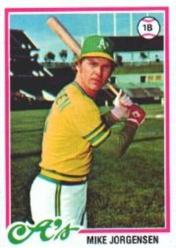 Photo of 1978 Topps #406 Mike Jorgensen