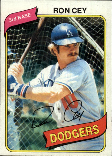 Photo of 1980 Topps #510 Ron Cey