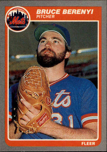 Photo of 1985 Fleer #73 Bruce Berenyi