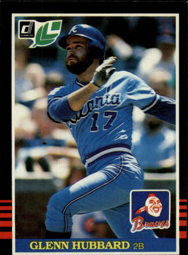 Photo of 1985 Leaf/Donruss #242 Glenn Hubbard