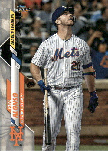 Photo of 2020 Topps #53 Pete Alonso LL