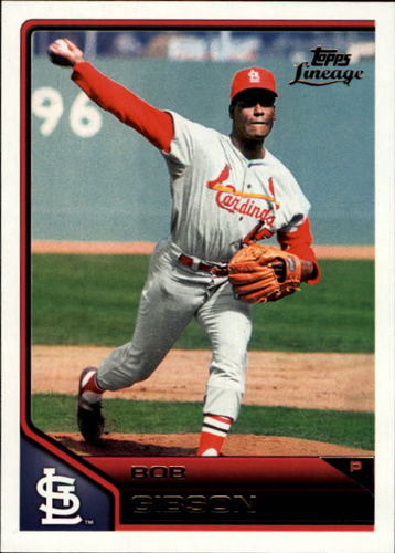 Photo of 2011 Topps Lineage #155 Bob Gibson