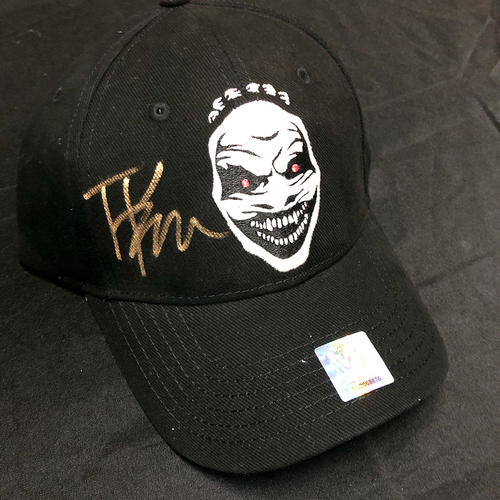 Photo of SIGNED Bray Wyatt The Fiend Let Me In baseball hat