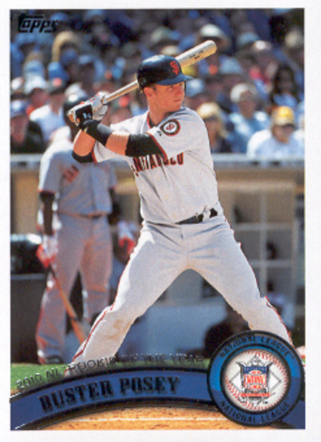 Photo of 2011 Topps #282 Buster Posey