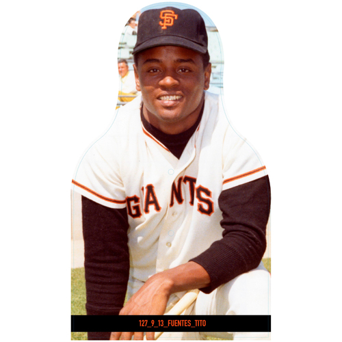 Photo of Giants Community Fund: Giants Tito Fuentes Cutout