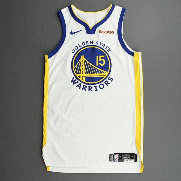 Image of Mychal Mulder - Golden State Warriors - Kia NBA Tip-Off and Christmas Day 2020 - Game-Worn Association Edition Jersey