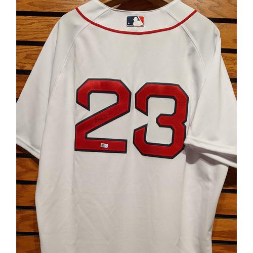 Blake Swihart #23 Autographed Home White Jersey
