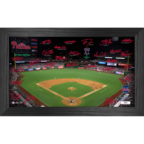 Photo of Philadelphia Phillies 2021 Signature Field Photo Frame