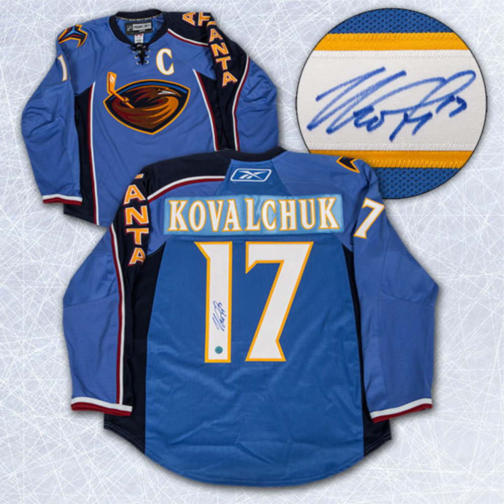 ... best price ilya kovalchuk atlanta thrashers autographed reebok authentic  on ice jersey bb98b 1ef4d 0082c434e