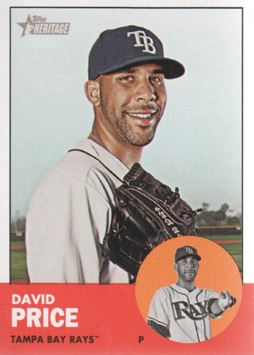 Photo of 2012 Topps Heritage #277A David Price