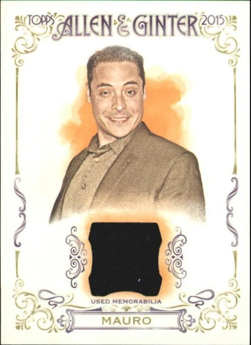 Photo of 2015 Topps Allen and Ginter Relics #FSRAJMA Jeff Mauro A