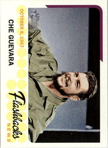 Photo of 2016 Topps Heritage News Flashbacks #NFCG Che Guevara