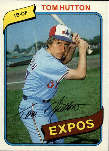Photo of 1980 Topps #427 Tom Hutton DP