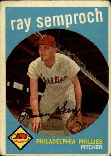 Photo of 1959 Topps #197 Ray Semproch