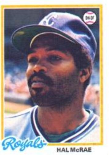 Photo of 1978 Topps #465 Hal McRae