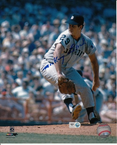Photo of Mickey Lolich Autographed 8x10