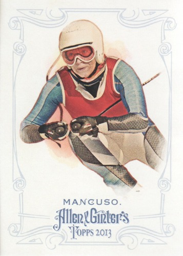 Photo of 2013 Topps Allen and Ginter #15 Julia Mancuso