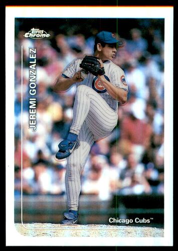 Photo of 1999 Topps Chrome Refractors #341 Jeremi Gonzalez
