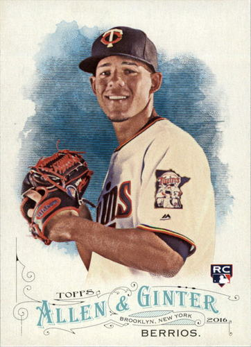 Photo of 2016 Topps Allen and Ginter #78 Jose Berrios RC
