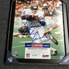 HOF - BRONCOS FLOYD LITTLE SIGNED 11X14 FRAMED PICTURE