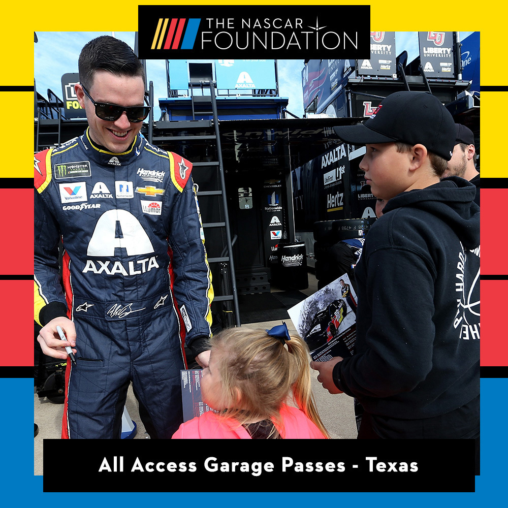 All Access Garage Passes at Texas!
