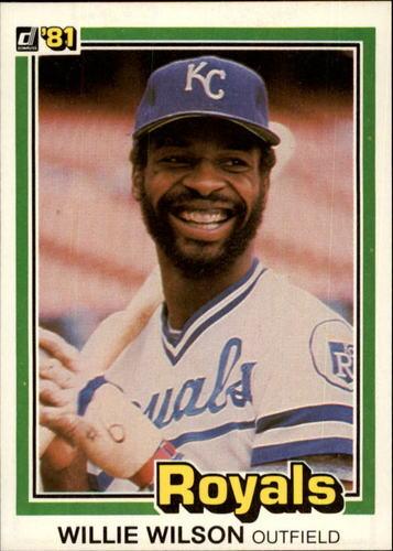 Photo of 1981 Donruss #223 Willie Wilson