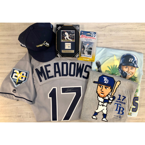 Photo of Rays Baseball Foundation Player Package: Austin Meadows