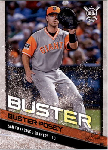 Photo of 2018 Topps Big League Players Weekend Photo Variations #203 Buster Posey