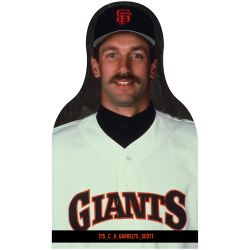 Photo of Giants Community Fund: Giants Scott Garrelts Cutout