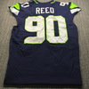 Crucial Catch - Seahawks Jarran Reed Game Used Jersey (10/4/20) Size 46