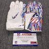 Crucial Catch - Bears Aaron Lynch Game Used Gloves (10/21/18)