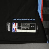 De'Aaron Fox - Sacramento Kings - Game-Worn City Edition Jersey - Scored Team-High 22 Points - 2020-21 NBA Season