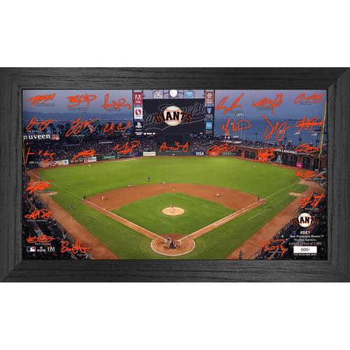 Photo of San Francisco Giants 2021 Signature Field Photo Frame