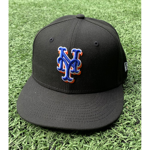 Photo of Aaron Loup #32 - Game Used Black Hat - Loup 1 IP, 1 K - Mets vs. Phillies - 9/17/21 - Also Worn 7/30/21 - Mets vs. Reds