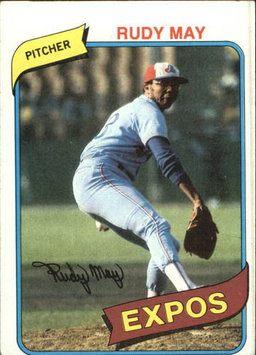 Photo of 1980 Topps #539 Rudy May