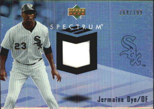 Photo of 2007 Upper Deck Spectrum Swatches #JE Jermaine Dye