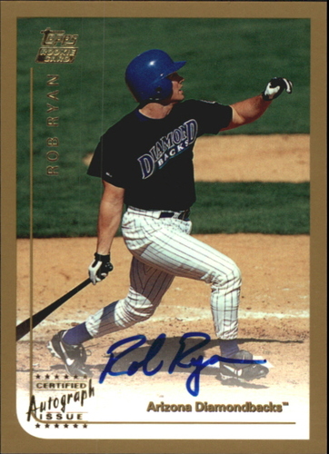 Photo of 1999 Topps Traded Autographs #T22 Rob Ryan