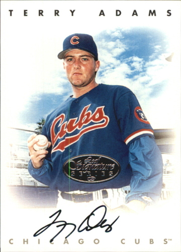 Photo of 1996 Leaf Signature Autographs Silver #3 Terry Adams
