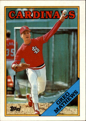 Photo of 1988 Topps #133 Greg Mathews