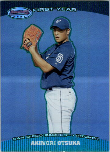 Photo of 2004 Bowman's Best Green #AO Akinori Otsuka FY