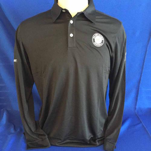 Photo of UMPS CARE AUCTION: ESPN MLB Logo Ashworth Long Sleeve Polo Shirt, Size Large
