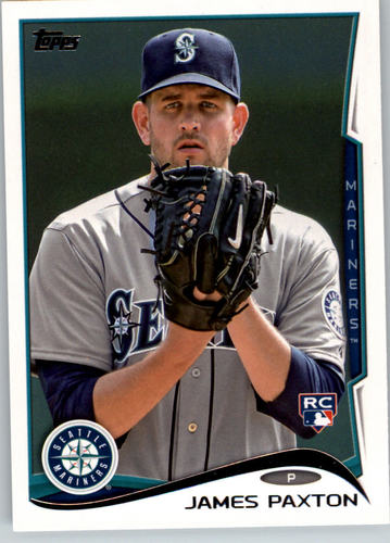 Photo of 2014 Topps #123 James Paxton Rookie Card