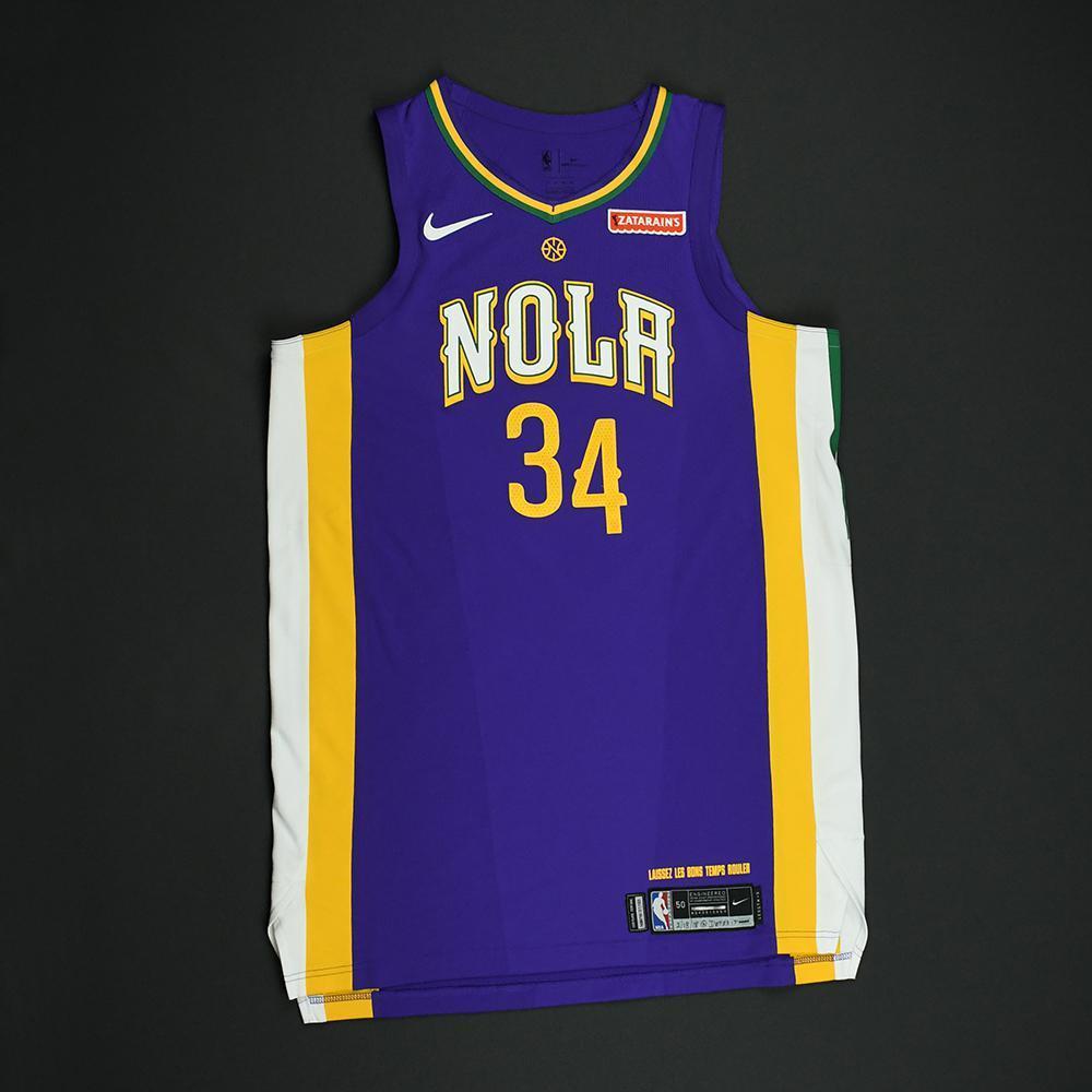 DeAndre Liggins - New Orleans Pelicans - Game-Worn 'City' Jersey - 2017-18 Season