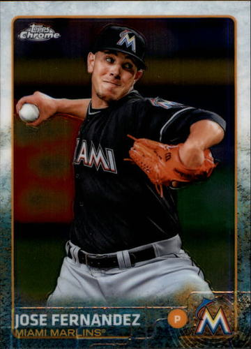 Photo of 2015 Topps Chrome #141 Jose Fernandez